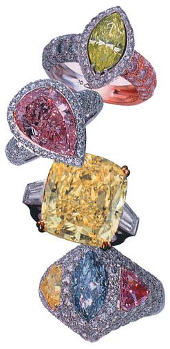 Rough diamond photo